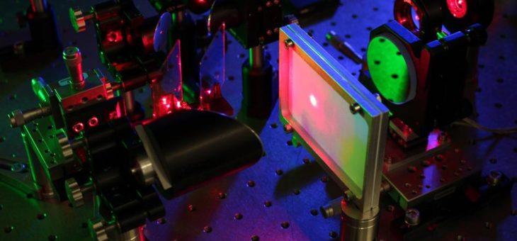 Quanteninspirierte Terahertz-Spektroskopie mit sichtbaren Photonen