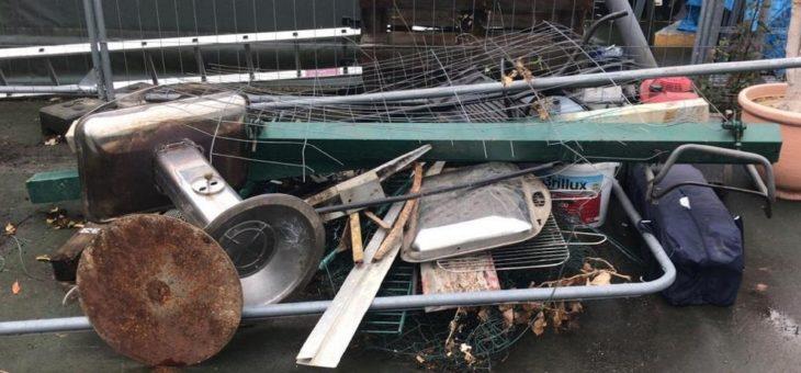 Kostenlose Schrott und Altmetall  in Hamm durch professionelle Schrotthändler