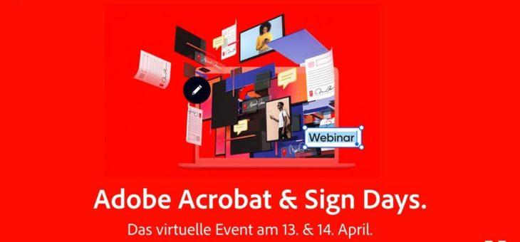 Prozesse erfolgreich digitalisieren:  Eventreihe von Adobe geht in die zweite Runde
