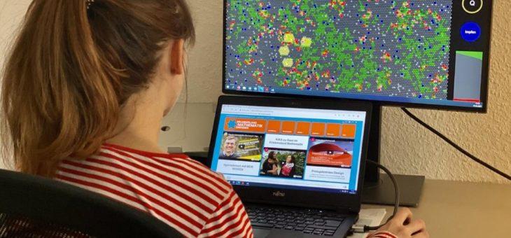 """""""Quarantäne"""" – Neues Onlinespiel des Erlebnislandes Mathematik ermöglicht Pandemieverläufe spie-lerisch zu verstehen"""