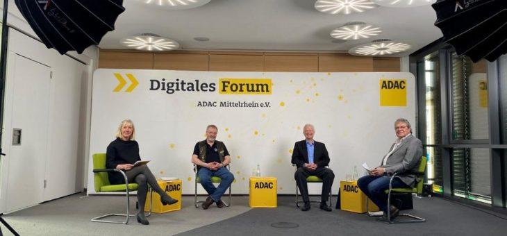 """Digitales Forum """"Wochenendfahrverbote für Biker"""" des ADAC Mittelrhein"""