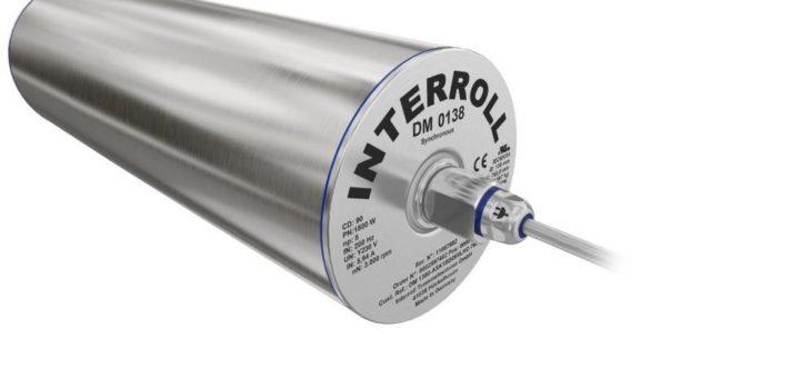 Interroll erweitert das Leistungsspektrum seiner Synchron-Trommelmotoren