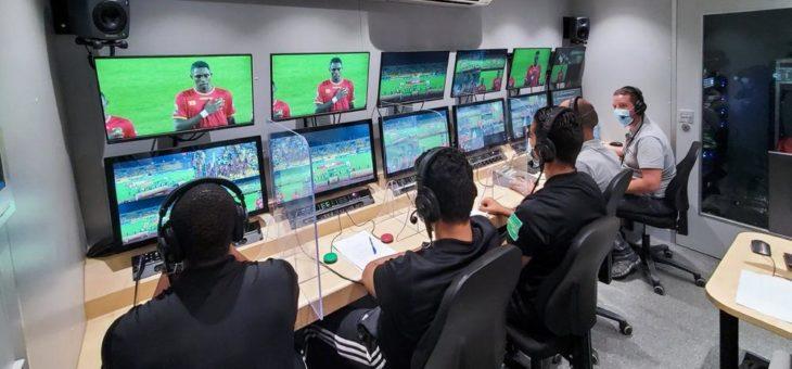 Video Assistant Referee (VAR) Systeme im Einsatz in Afrika bei CHAN in Kamerun