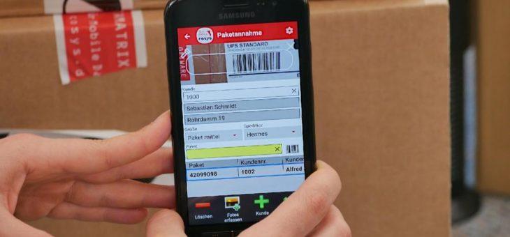 Mit Smartphones Ihren Paketshop digitalisieren