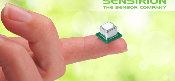 Weltweit kleinste selektive CO2 Sensoren