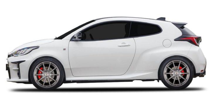 BORBET GTX bringt den neuen Toyota Yaris ganz leicht auf Touren