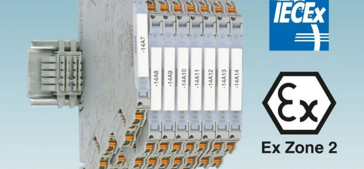 Internationale Zulassungen für hochkompakte Trennverstärker