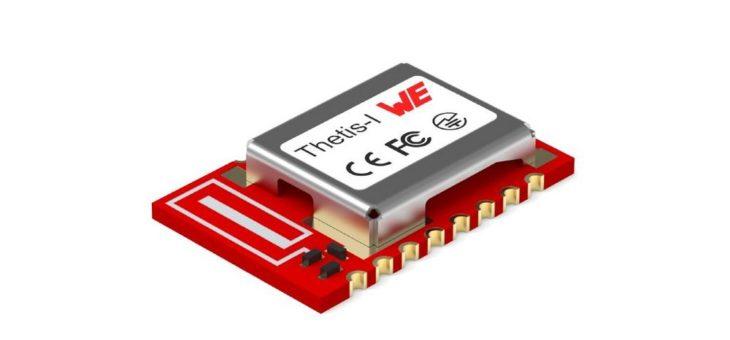 Funkmodul und Test-Option für das IoT-Netzwerkprotokoll Wirepas