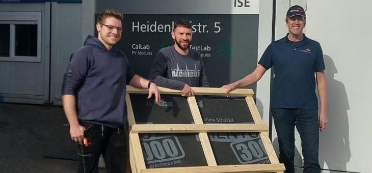 Dachdecker-Bildungszentrum BW in Solar-Forschungsprojekt eingebunden