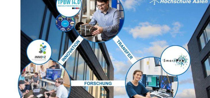 Hochschule Aalen als Botschafter für Forschung und Transfer auf Hannover Messe aktiv