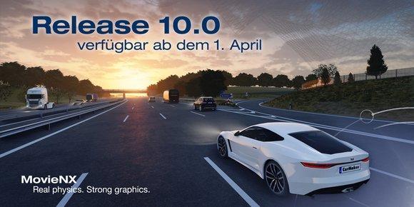 IPG Automotive bringt Version 10.0 der CarMaker-Produktfamilie auf den Markt