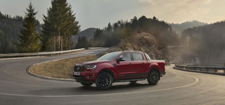 Ford Ranger Stormtrak und Ranger Wolftrak: zwei neue Sondereditionen von Europas beliebtestem Pick-up
