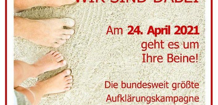 Deutscher Venentag® findet 2021 überwiegend online statt