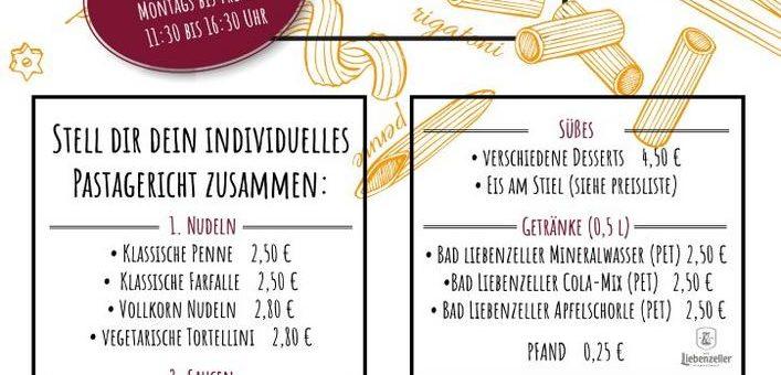 Pinea Pastaria – dein Mittagessen auf dem Marktplatz in Bad Liebenzell