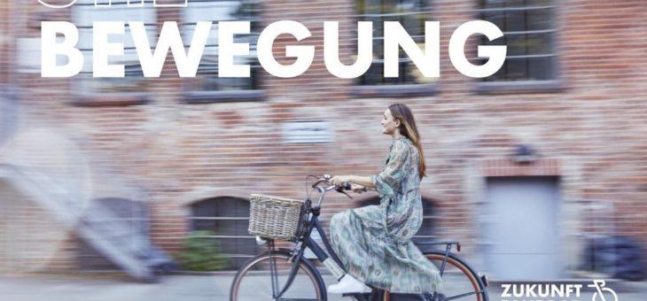 #BleibinBewegung: BVZF startet Fahrrad-Kampagne in Hamburg