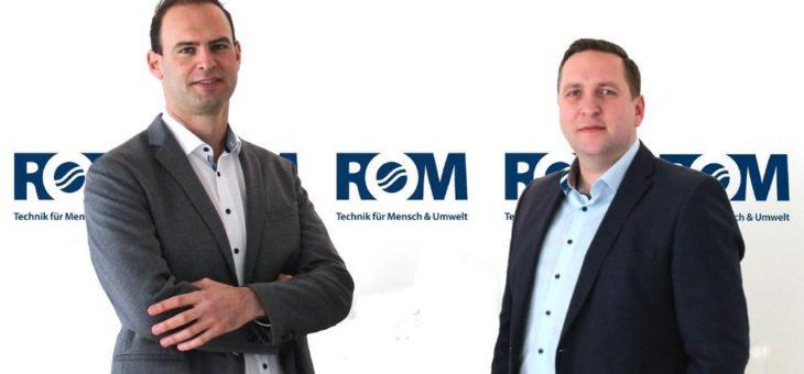 ROM Technik Hauptniederlassung Stuttgart mit neuem Führungsduo