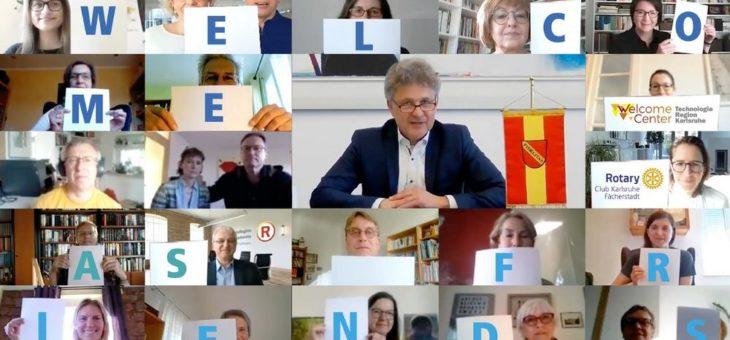 """18 Welcome Guides erleichtern internationalen Fachkräften das Einleben in der TechnologieRegion Karlsruhe / TRK-Vorsitzender OB Dr. Mentrup: """"Dieses Projekt ist einmalig in Baden-Württemberg"""""""