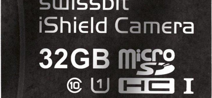 Sicherheit per Plug-and-play: Swissbit stellt Speicherkarte iShield Camera vor