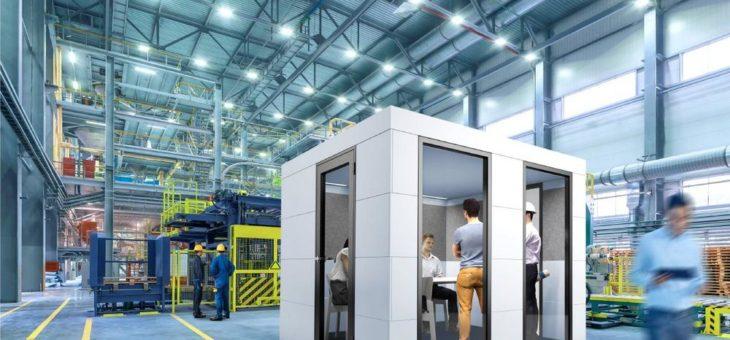 Die Werkhalle der Zukunft braucht Lärmschutz