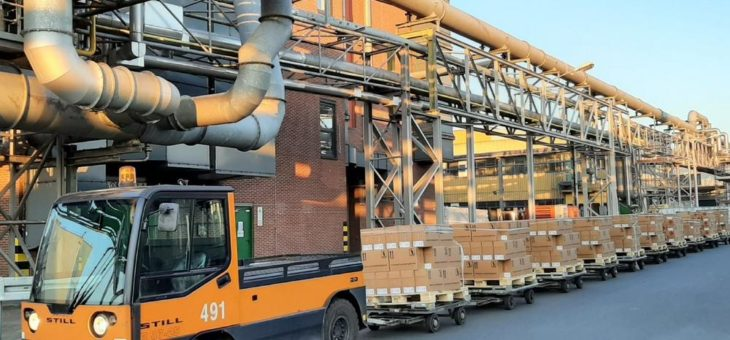 Pilotprojekt von BASF Coatings in Kooperation mit Nexxiot für mehr Transparenz beim innerbetrieblichen Werkverkehr
