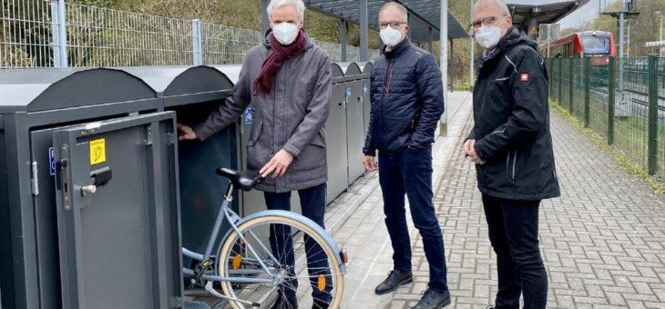 NVR und Gemeinde Alfter eröffnen Bike+Ride-Anlage am S-Bahn-Haltepunkt Witterschlick