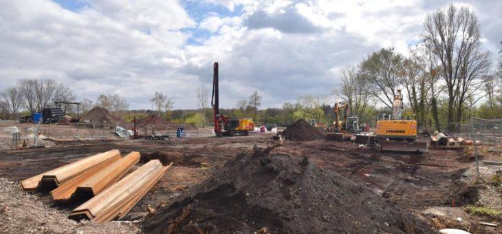 Anker gelichtet: Startschuss für den Bau der ersten 29 Wohneinheiten des Projekts MainAnker