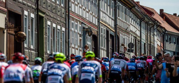 Deutschland Tour bereitet sich auf Finalwochenende in Franken vor