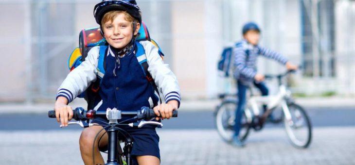 Sicherheit hat Vorfahrt: Kinder auf dem Rad