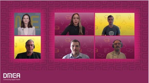 DMEA-Nachwuchspreis 2021: Die diesjährigen Gewinnerinnen und Gewinner