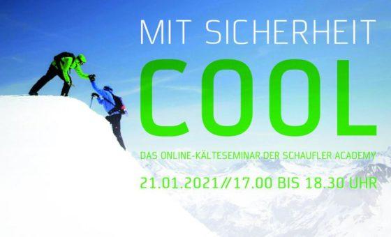 Fachwissen Kältetechnik für Nichtexperten: kostenfreies Online-Kälteseminar der SCHAUFLER Academy