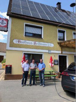 Photovoltaik Gasthaus Wirtschaft Restaurant Imbiss