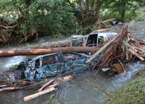 Unwetter-Katastrophe: R+V zieht Zwischenbilanz